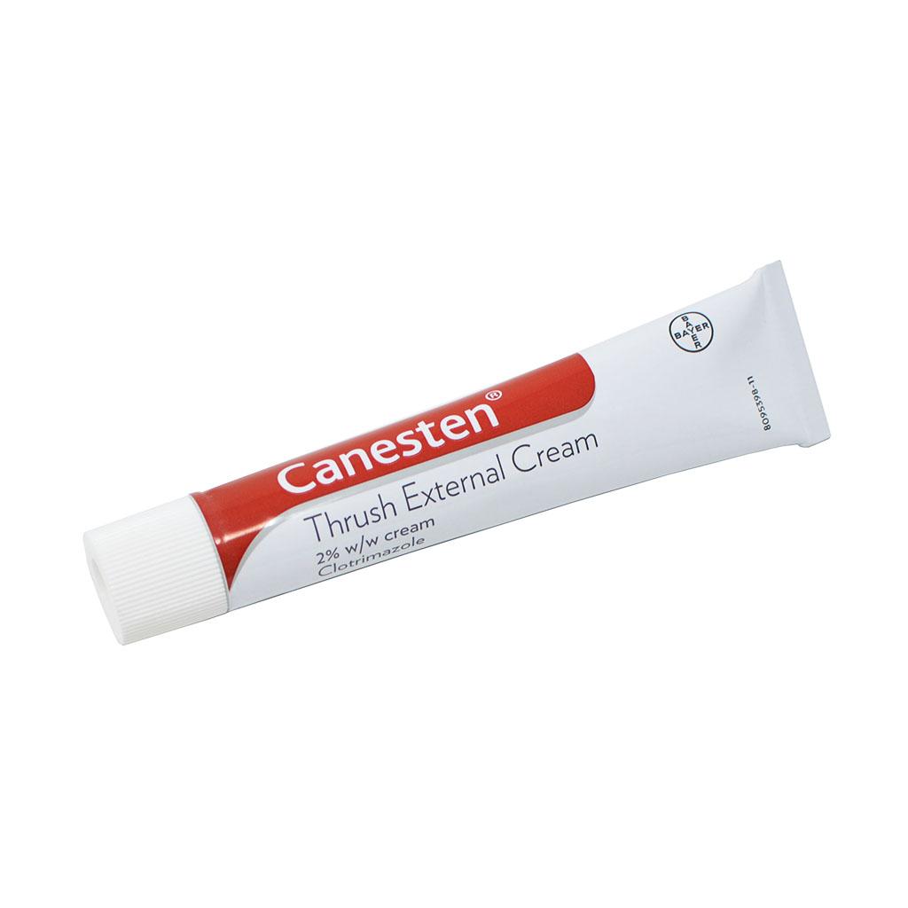 Canesten Thrush Cream (2% Clotrimazole) - Thrush OTC