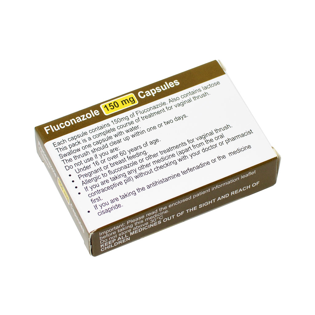 Fluconazole 150mg Capsule - Thrush