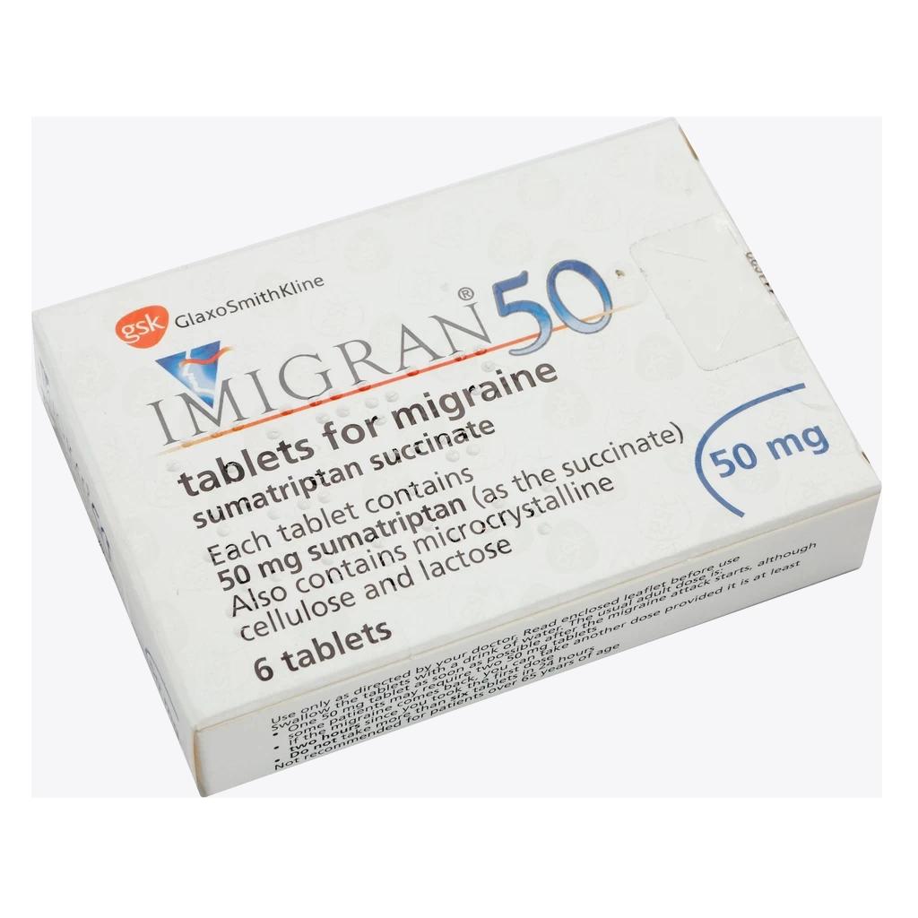 Imigran Tablets - Migraine