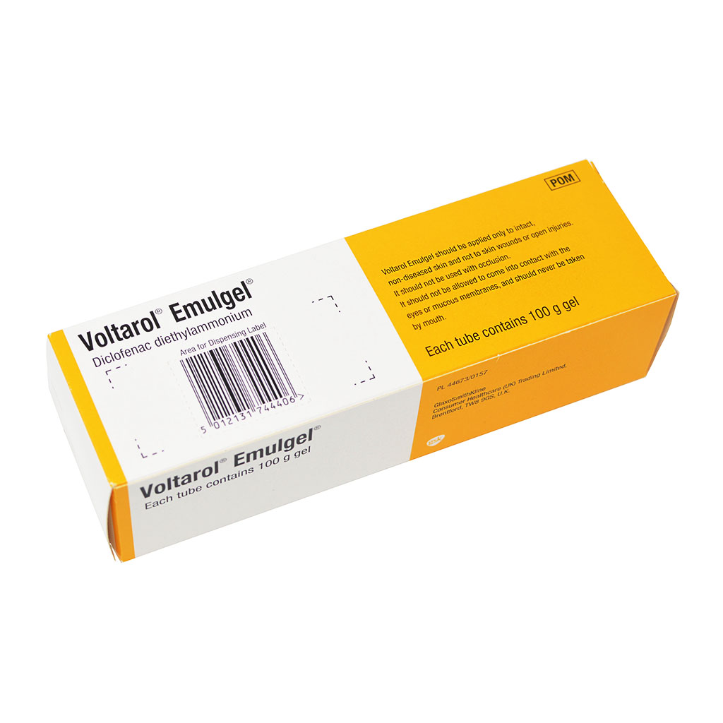Voltarol (Diclofenac) Gel - Joint and Muscle Pain