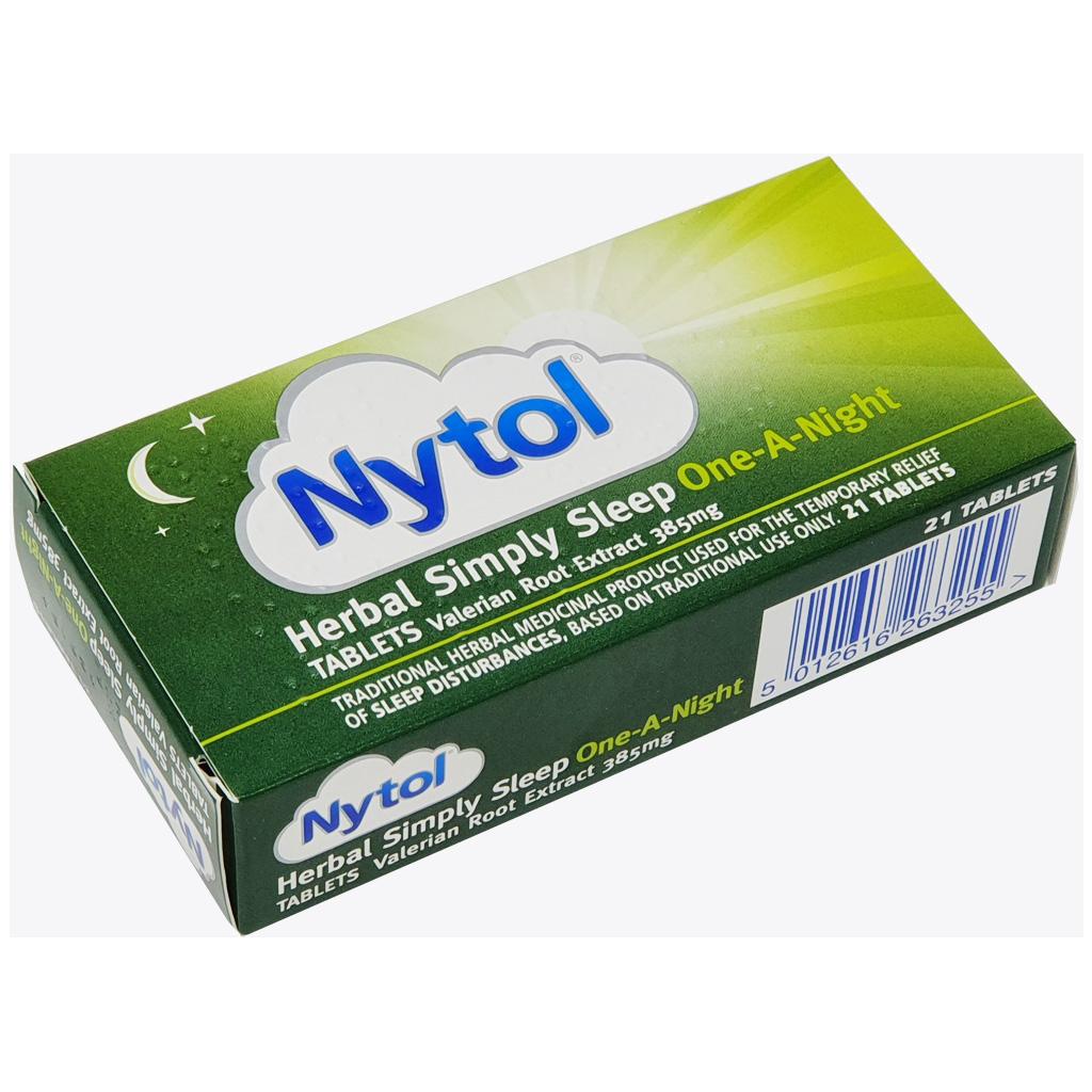 Nytol Herbal Simply Sleep One a Night Tablets x 21 - Sleep Aid