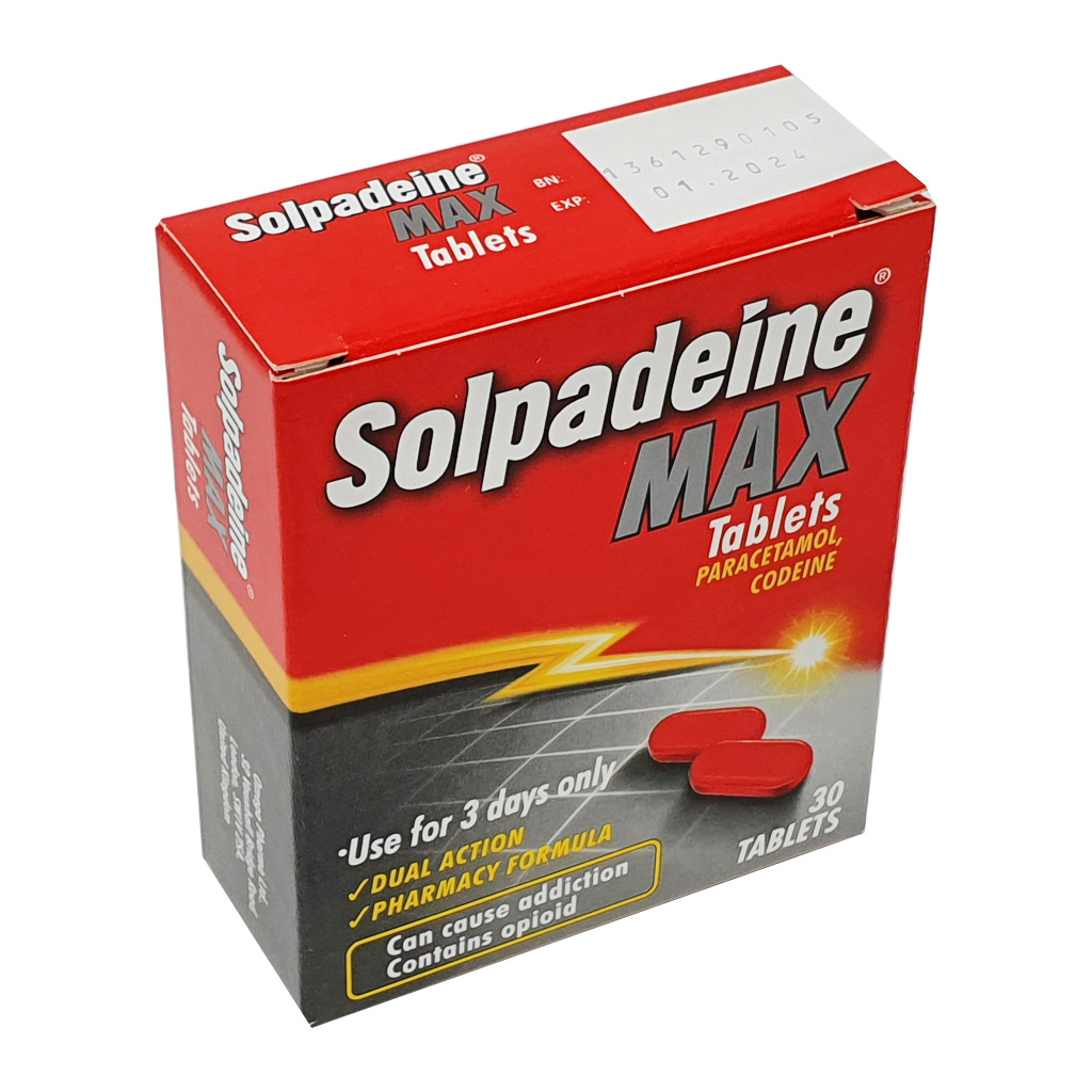 Solpadeine Max Tablets x 30 - Pain Relief