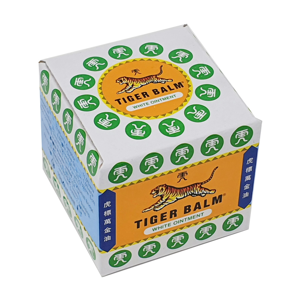 Tiger Balm Regular White 19g - Pain Relief