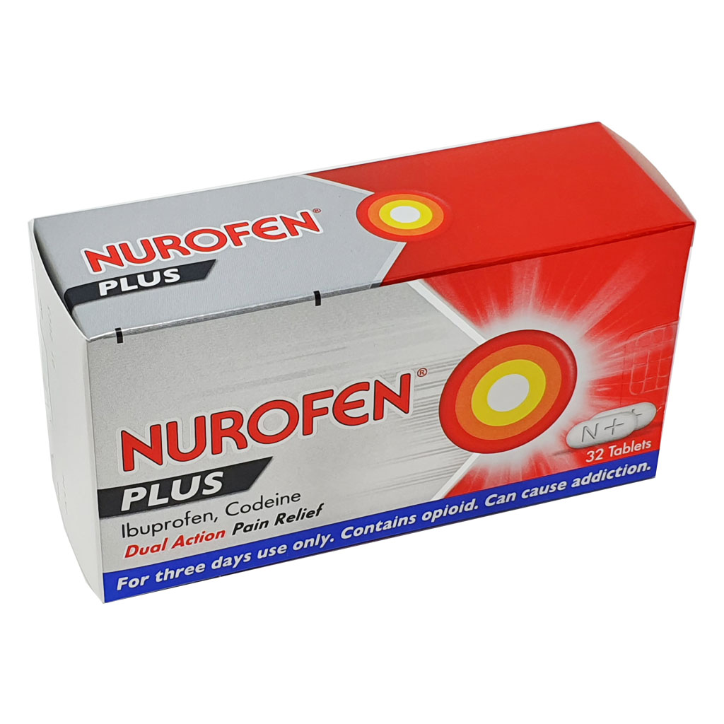 Nurofen Plus 200mg Tablets x 32 - Pain Relief