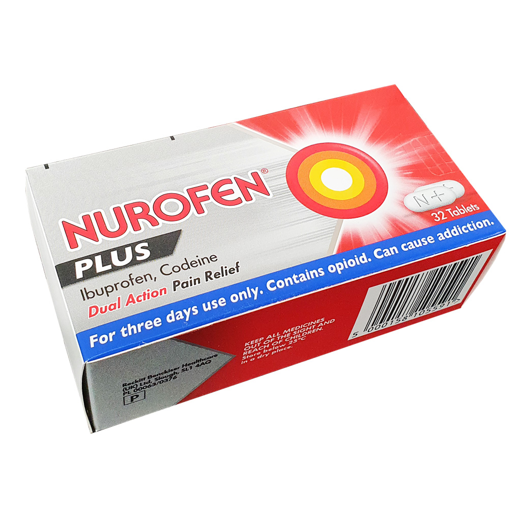 Nurofen Plus 200mg Tablets x 24 - Pain Relief