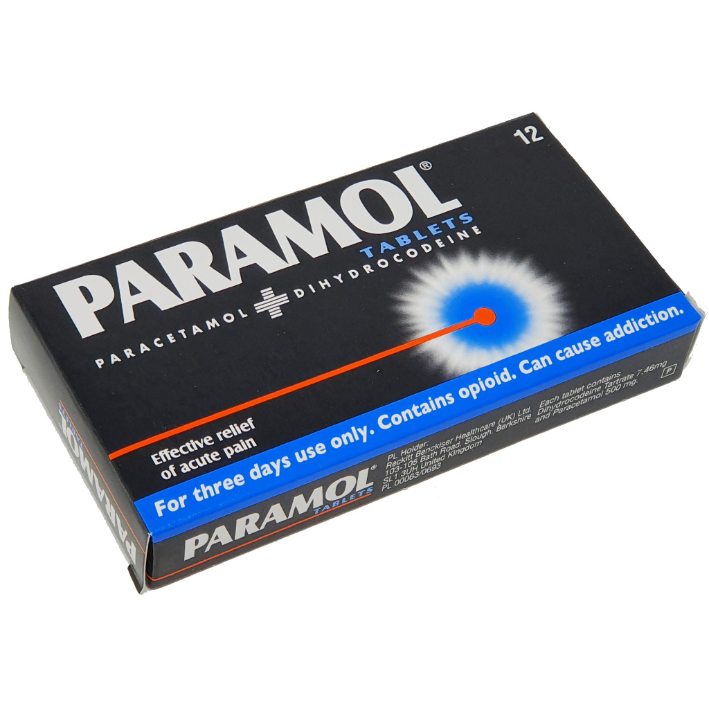 Paramol Caplets x  12 - Pain Relief