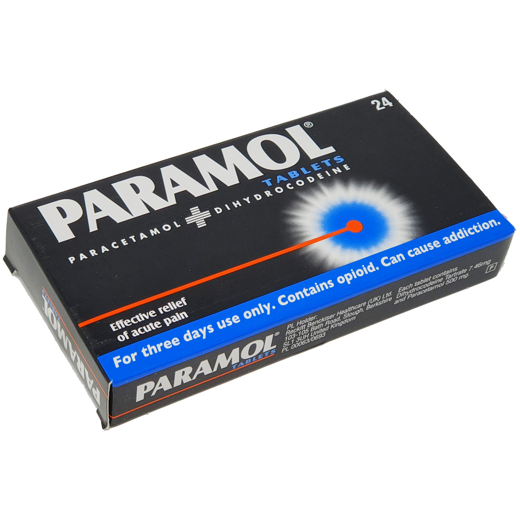 Paramol Caplets x 24 - Pain Relief