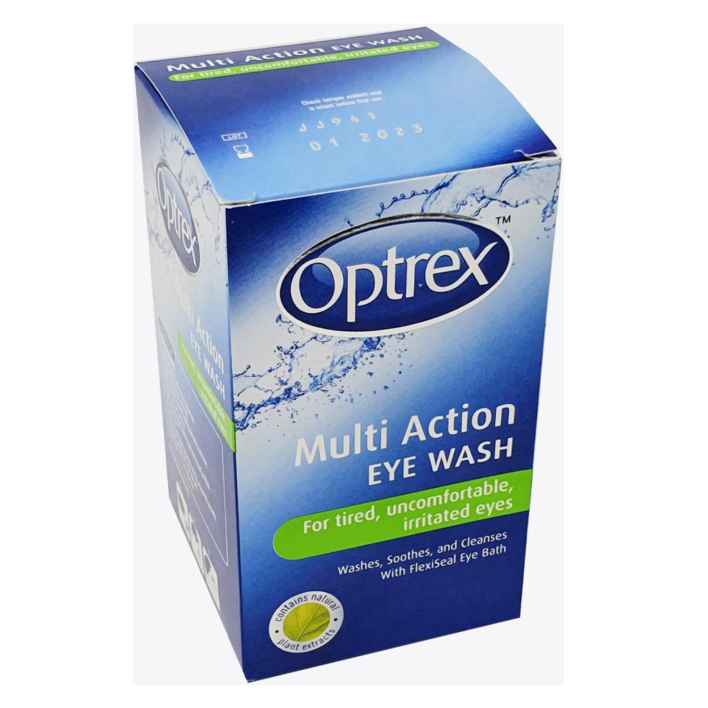 Optrex Multi Action Eye Wash (100ml) - Eye Care