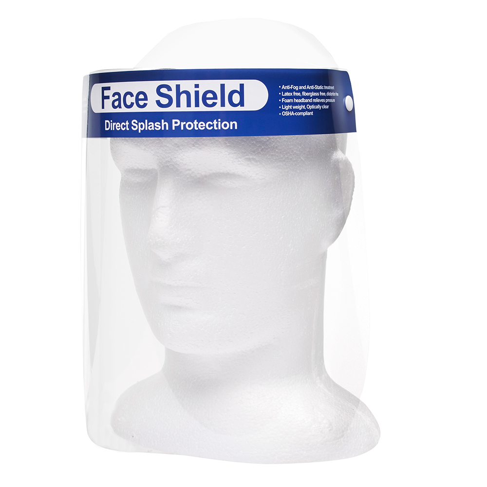 PPE Face Shield/Visor with foam forehead padding - PPE - Personal Protective Equipment
