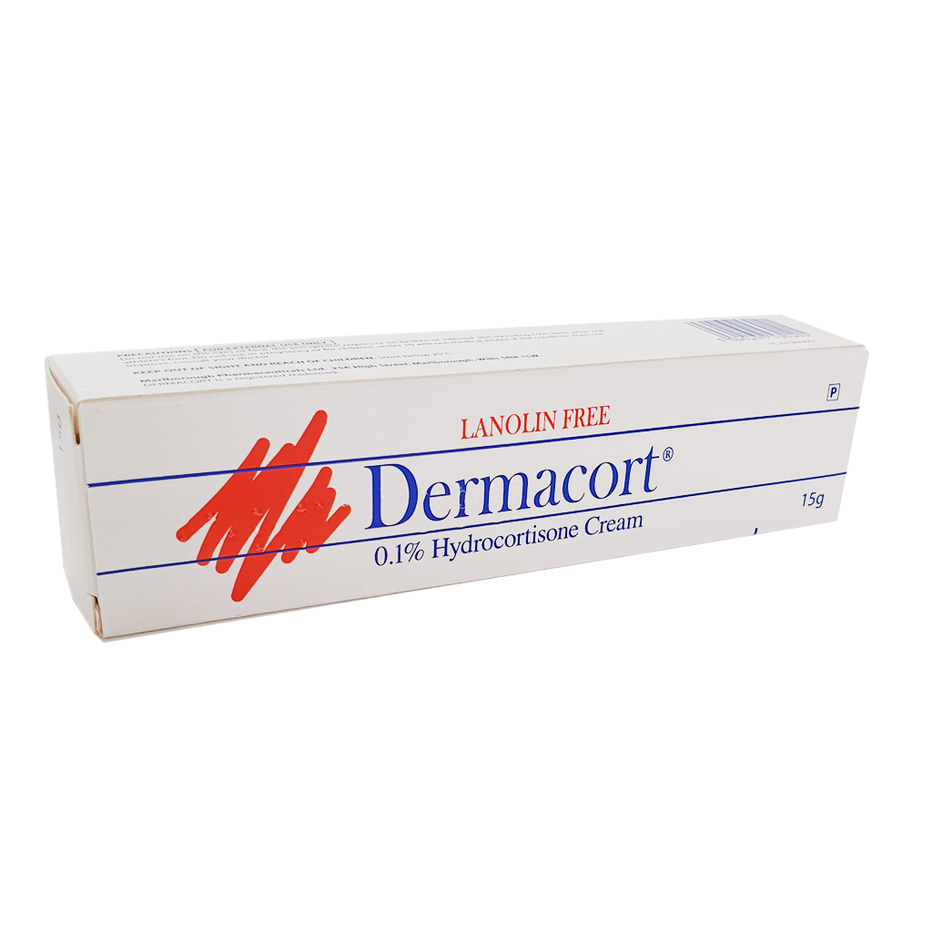 Dermacort Cream 15g - Creams and Ointments