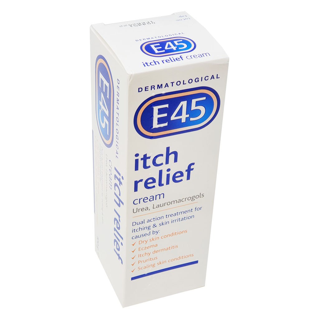 E45 Itch Relief Cream - Creams and Ointments