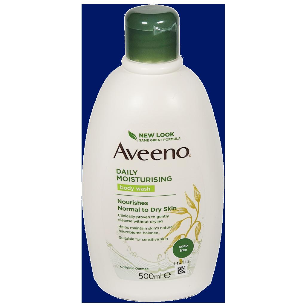 Aveeno Daily Moisturising Body Wash 500ml - Creams and Ointments