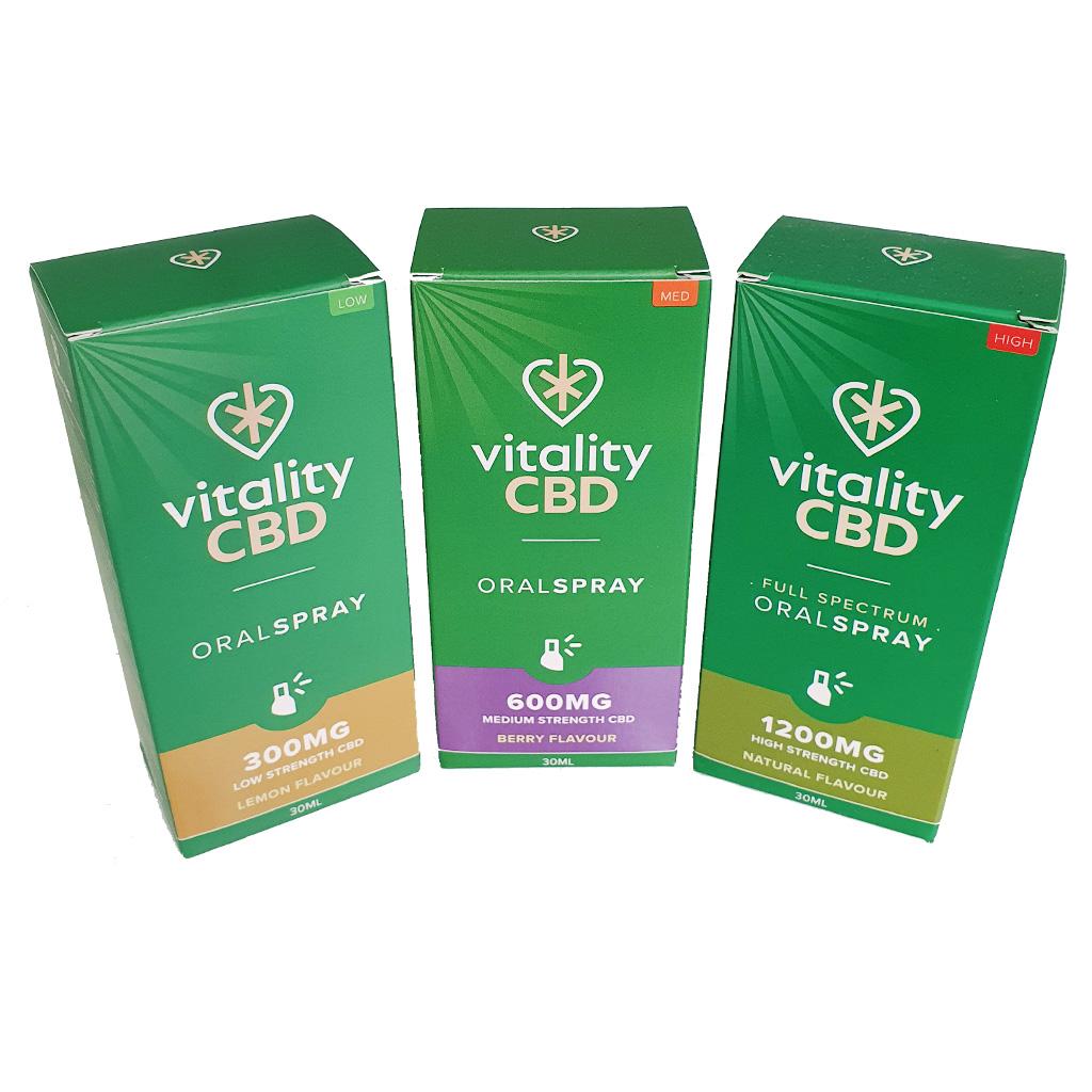 Vitality CBD Oral Spray - Vitality CBD