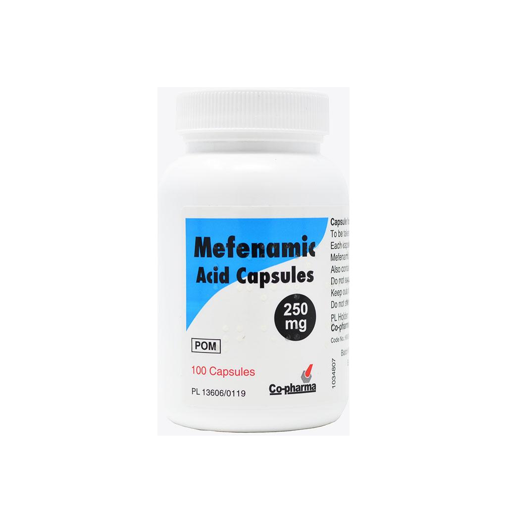 Mefenamic Acid Capsules - Period Pain