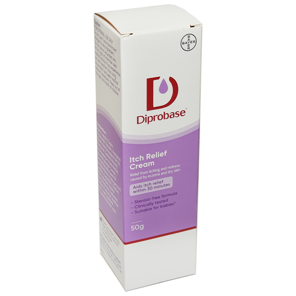 Diprobase Itch Relief Cream 50g - Creams and Ointments