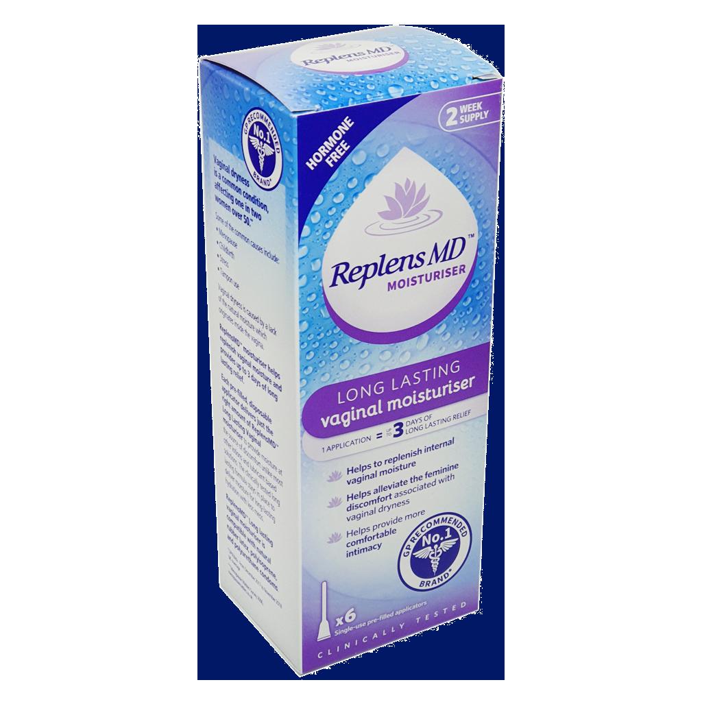 Replens MD Vaginal Moisturiser - 6 Pack - Personal Lubricants