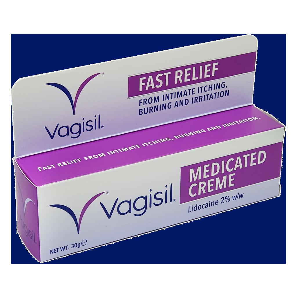 Vagisil Medicated Creme 30g - Cystitis / Bladder Infection