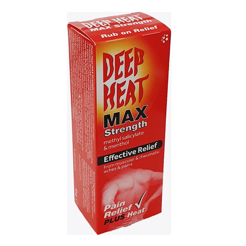Deep Heat Max Strength - Pain Relief
