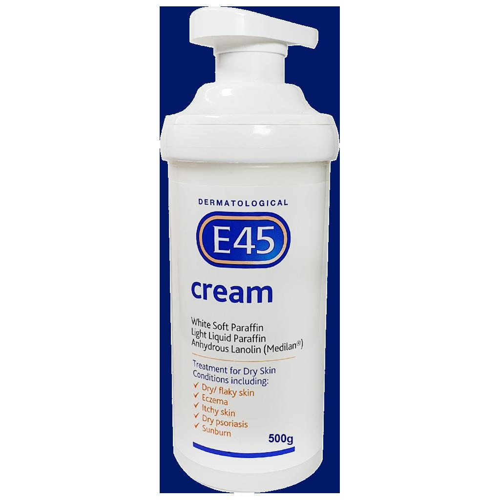 E45 Cream 500g - Creams and Ointments