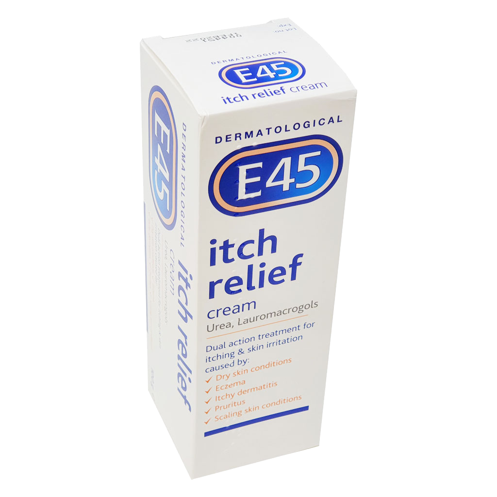 E45 Itch Relief Cream 50g - Creams and Ointments