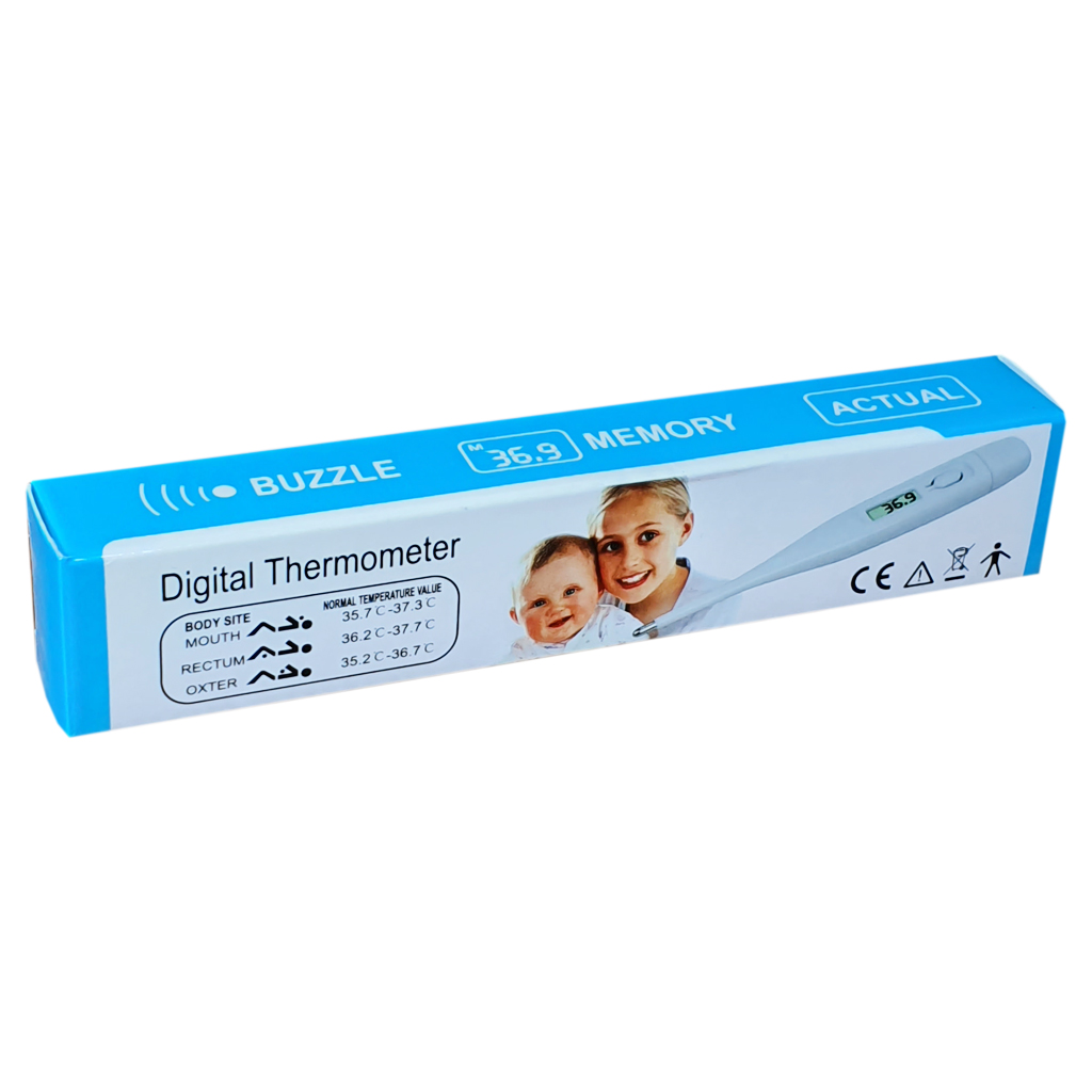 Buzzle Digital Thermometer - Electrical Health and Diagnostic