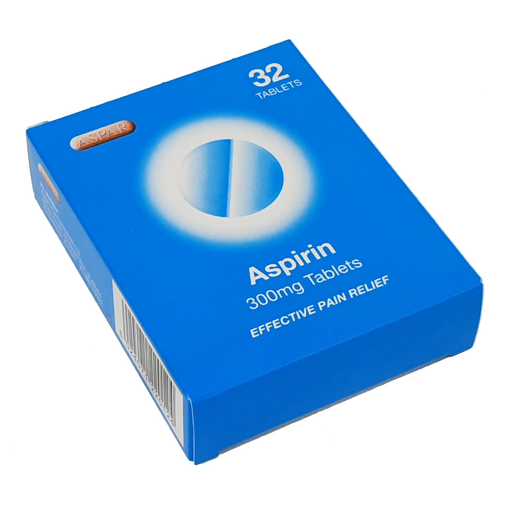 Expires End August 2021 - Aspirin Dispersible 300mg Tablets x 32 - Special Offers