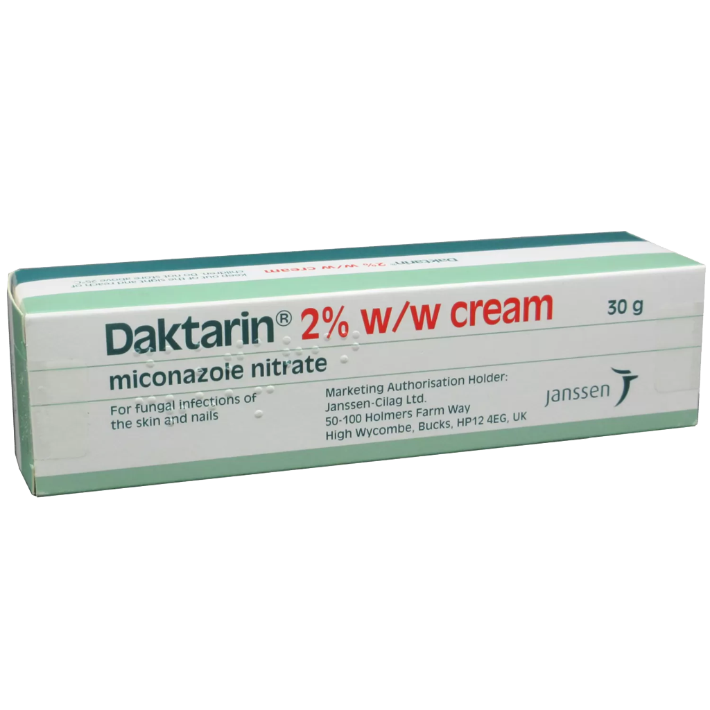 Daktarin 2% Cream 30g - Creams and Ointments